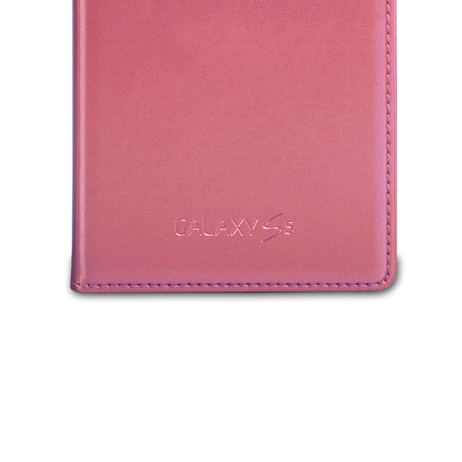 Official Samsung Galaxy S5 S View Cover - Glam Pink