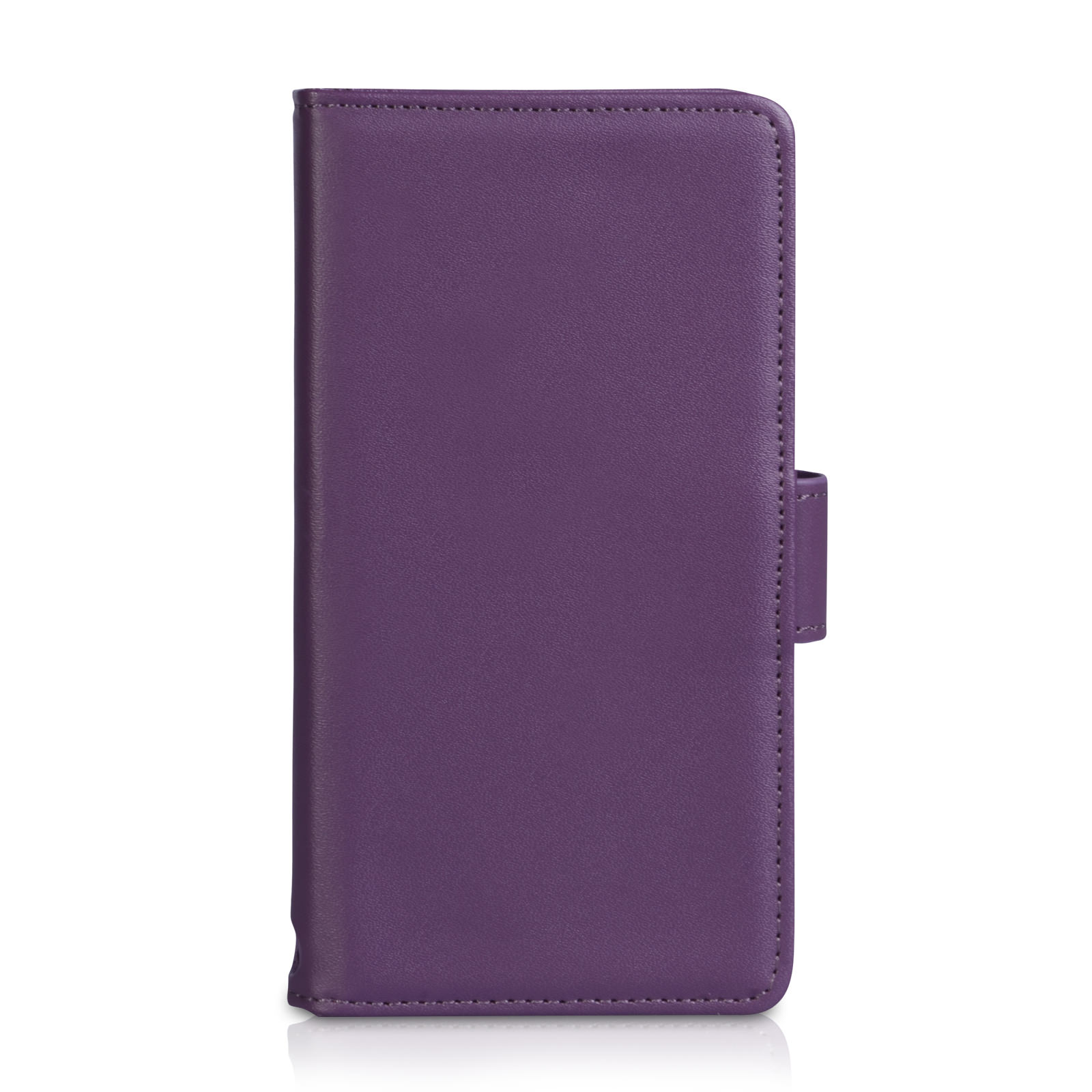 YouSave Huawei Ascend G6 Leather-Effect Wallet Case - Purple