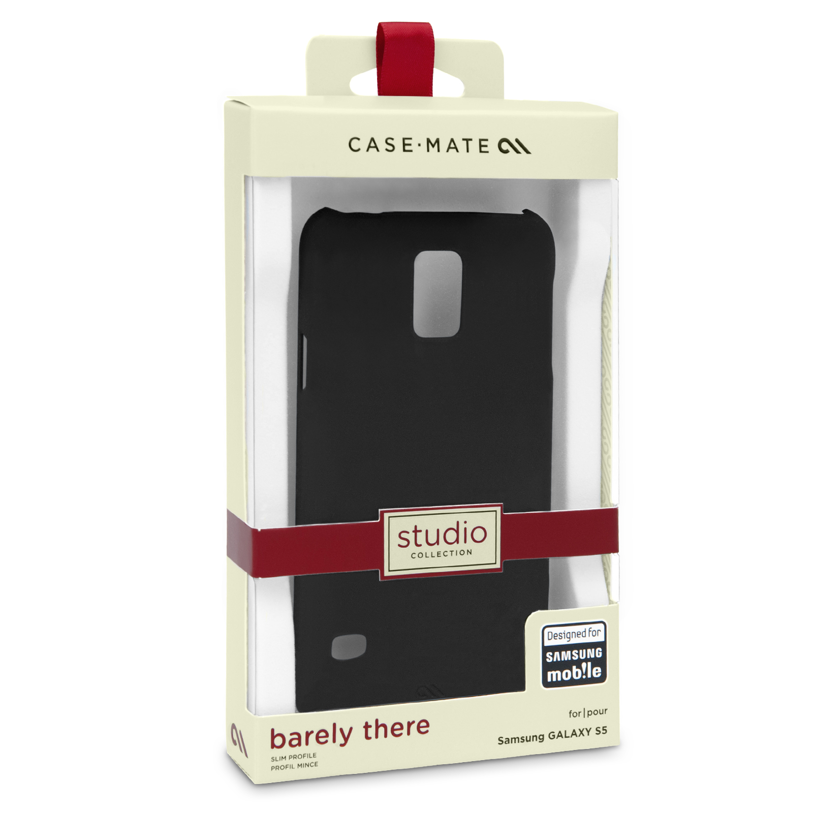 Case Mate Samsung Galaxy S5 Barely There Case - Black