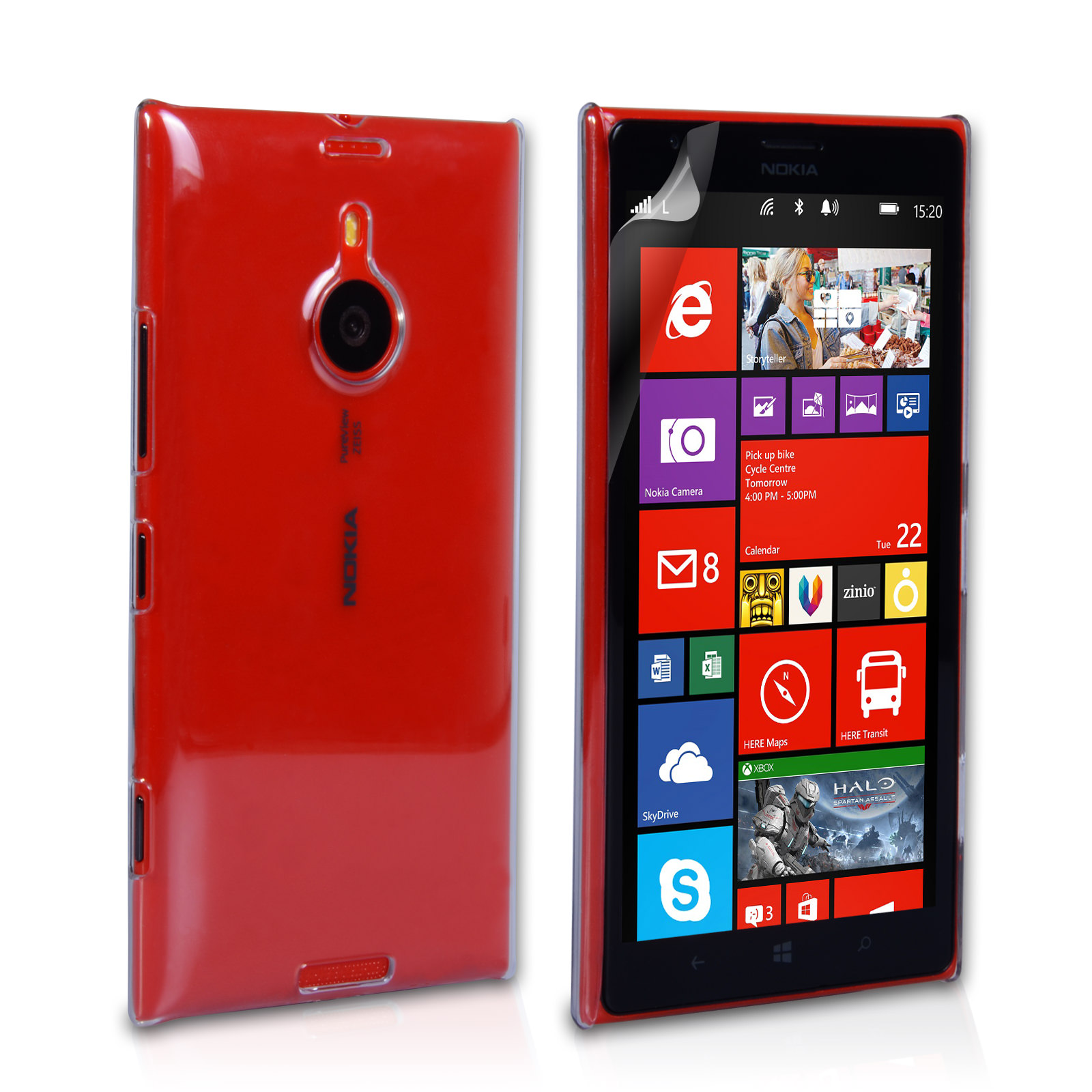 YouSave Accessories Nokia Lumia 1520 Hard Case - Crystal Clear