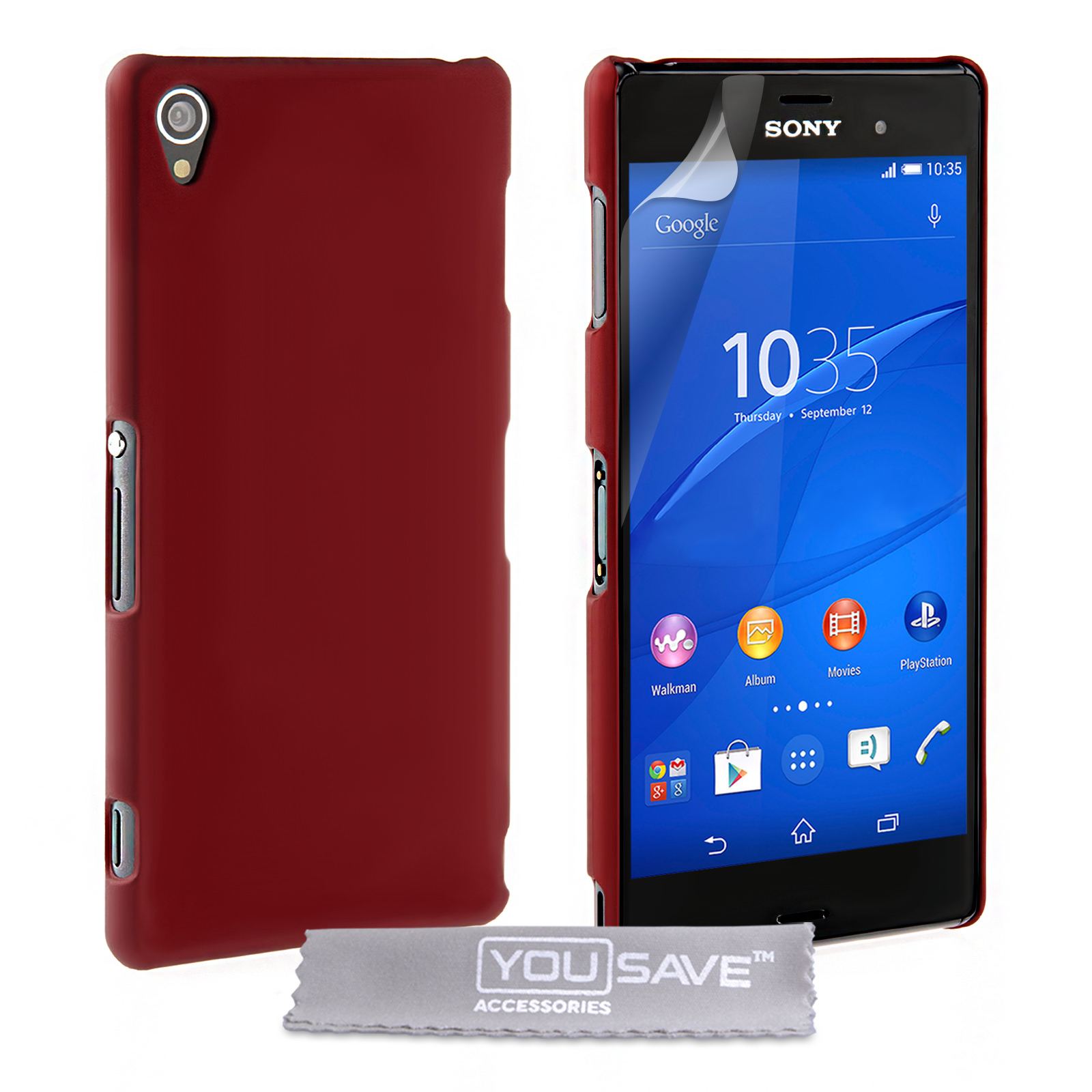 YouSave Accessories Sony Xperia Z3 Hard Hybrid Case