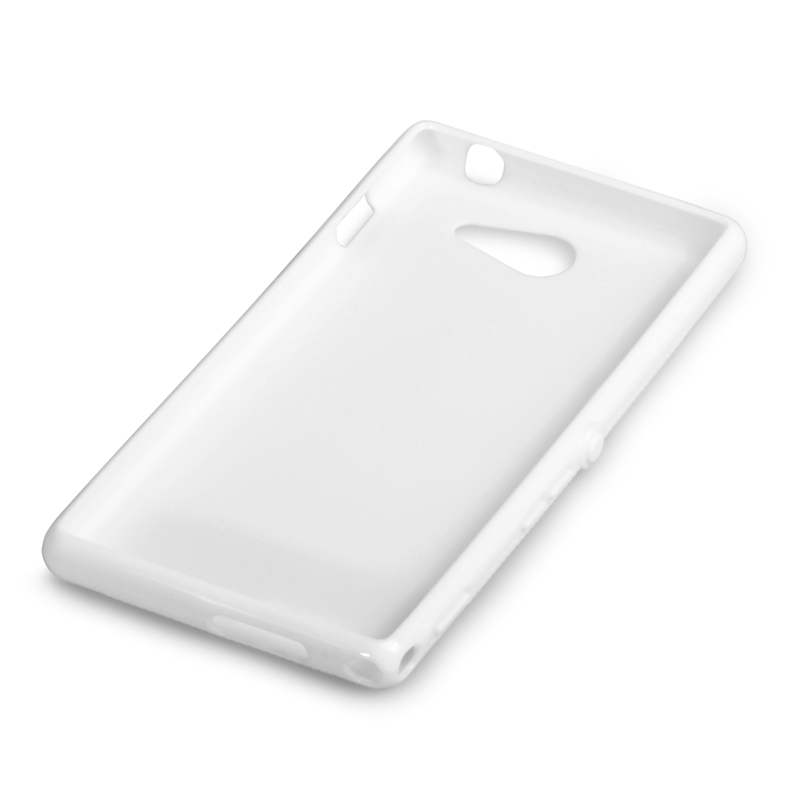 YouSave Accessories Sony Xperia M2 Silicone Gel X-Line Case - White