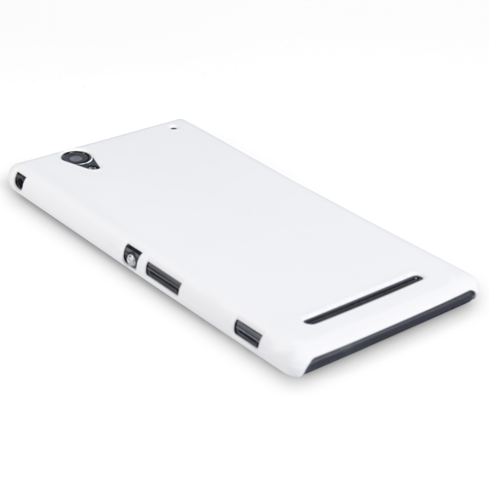 YouSave Accessories Sony Xperia T2 Ultra Hard Hybrid Case - White