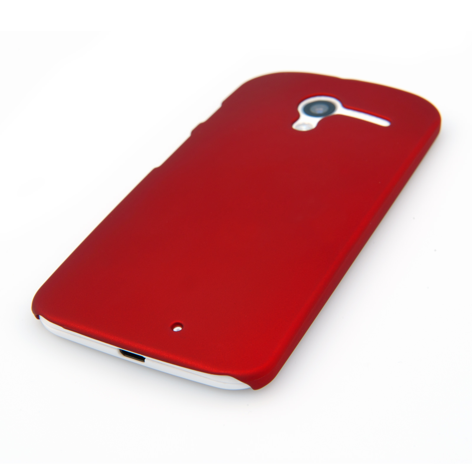 YouSave Accessories Motorola Moto X Hard Hybrid Case - Red