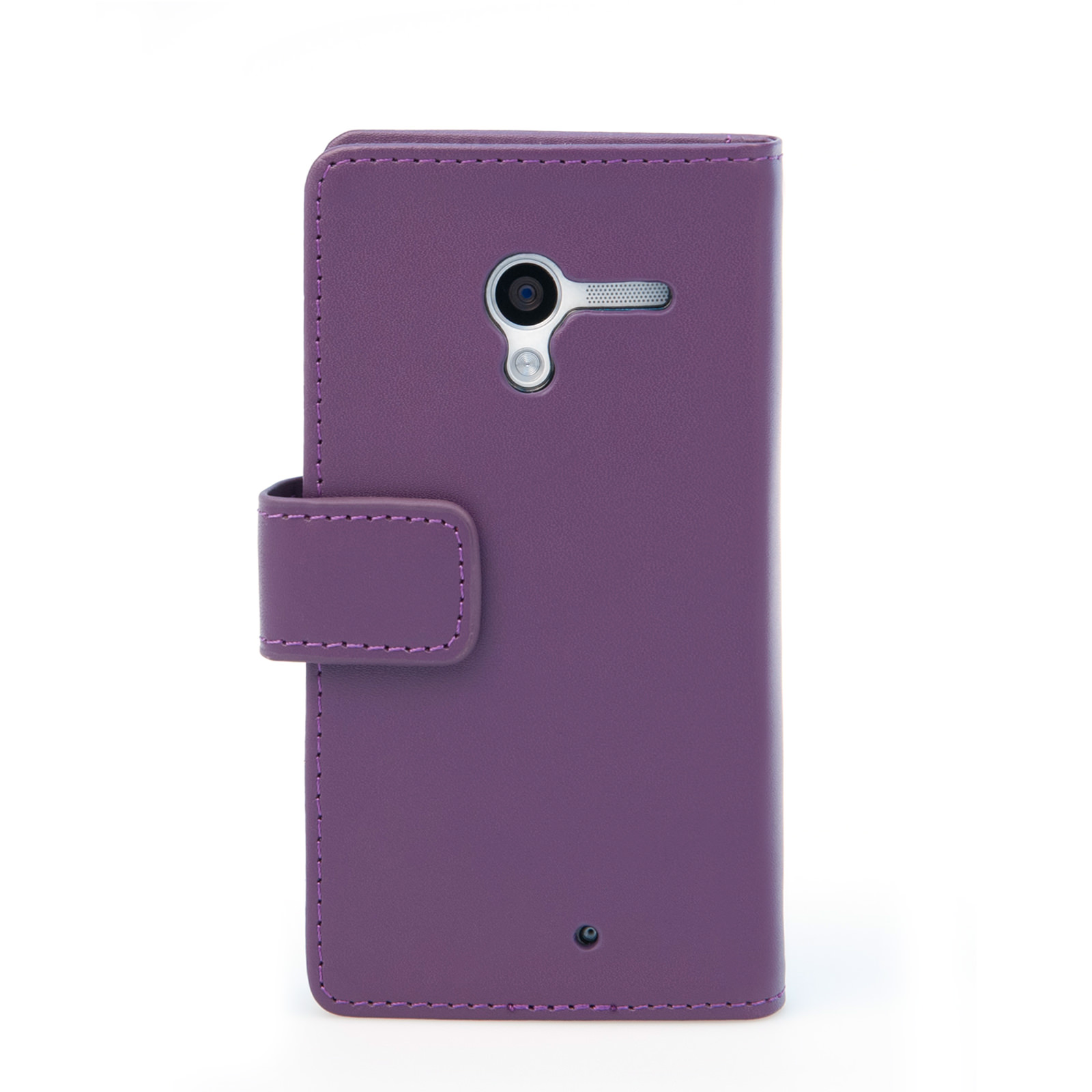 YouSave Motorola Moto X Leather-Effect Wallet Case - Purple