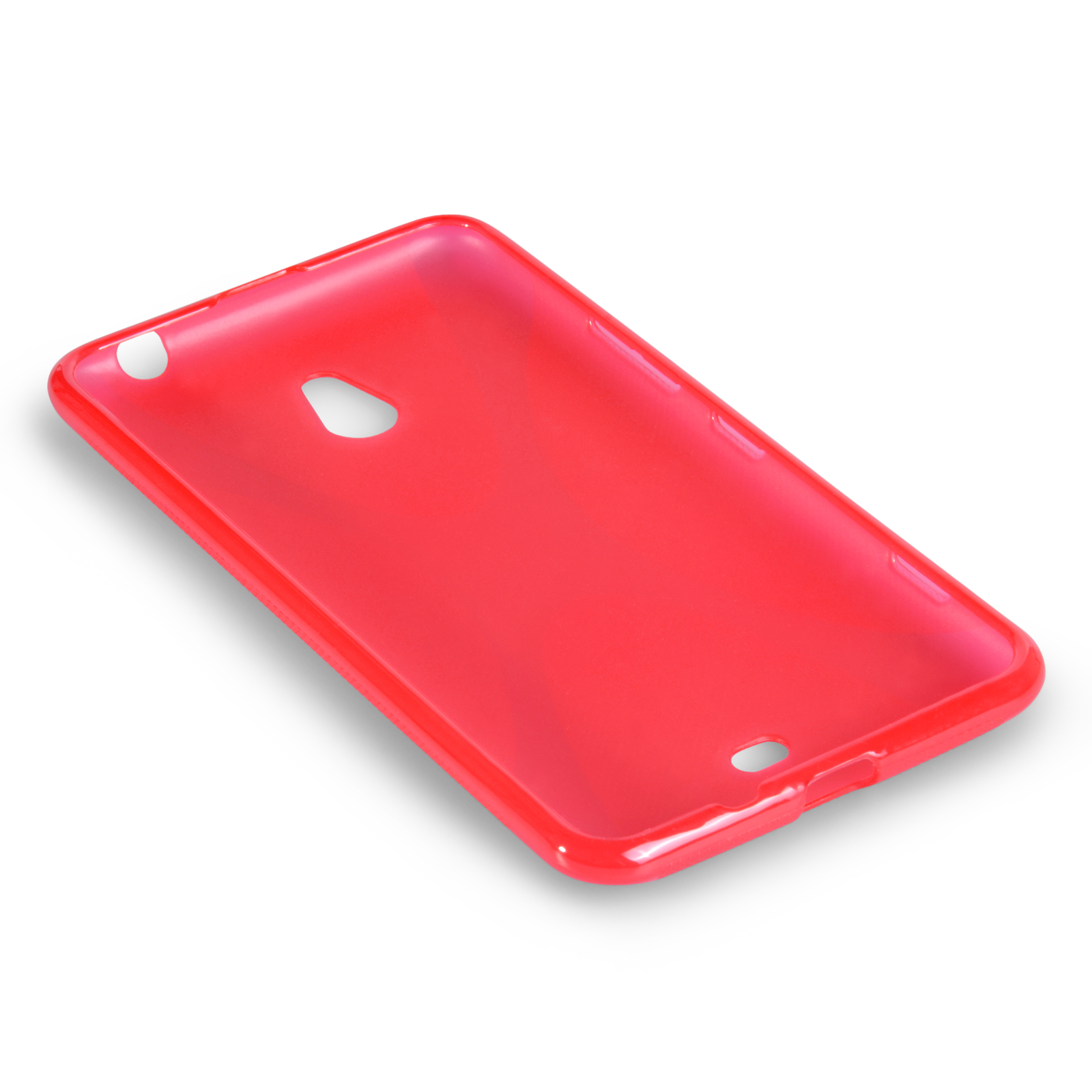 YouSave Accessories Nokia Lumia 1320 Silicone Gel X-Line Case - Red