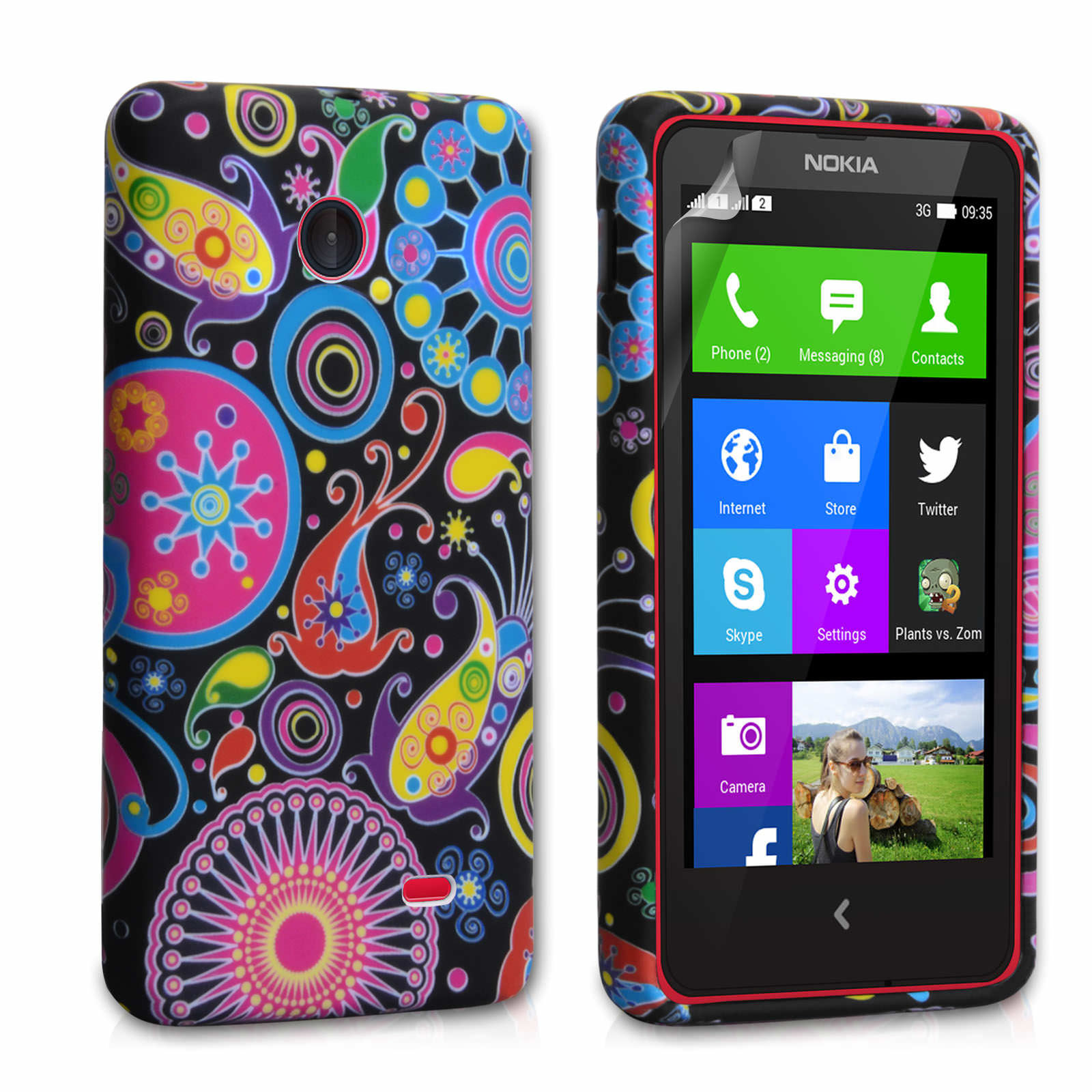YouSave Accessories Nokia X Jellyfish Silicone Gel Case