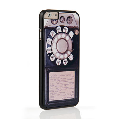 On Your Case iPhone 6 and 6s Case - Black Vintage Payphone
