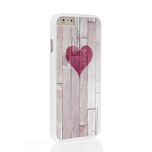 On Your Case iPhone 6 and 6s Case - Wooden Grain Heart