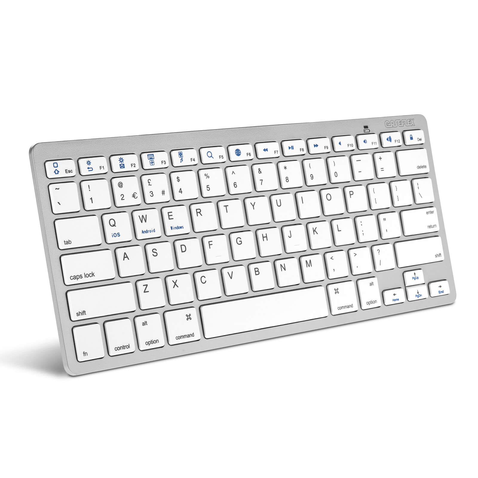 Caseflex Ultra Slim Wireless Universal Bluetooth Keyboard