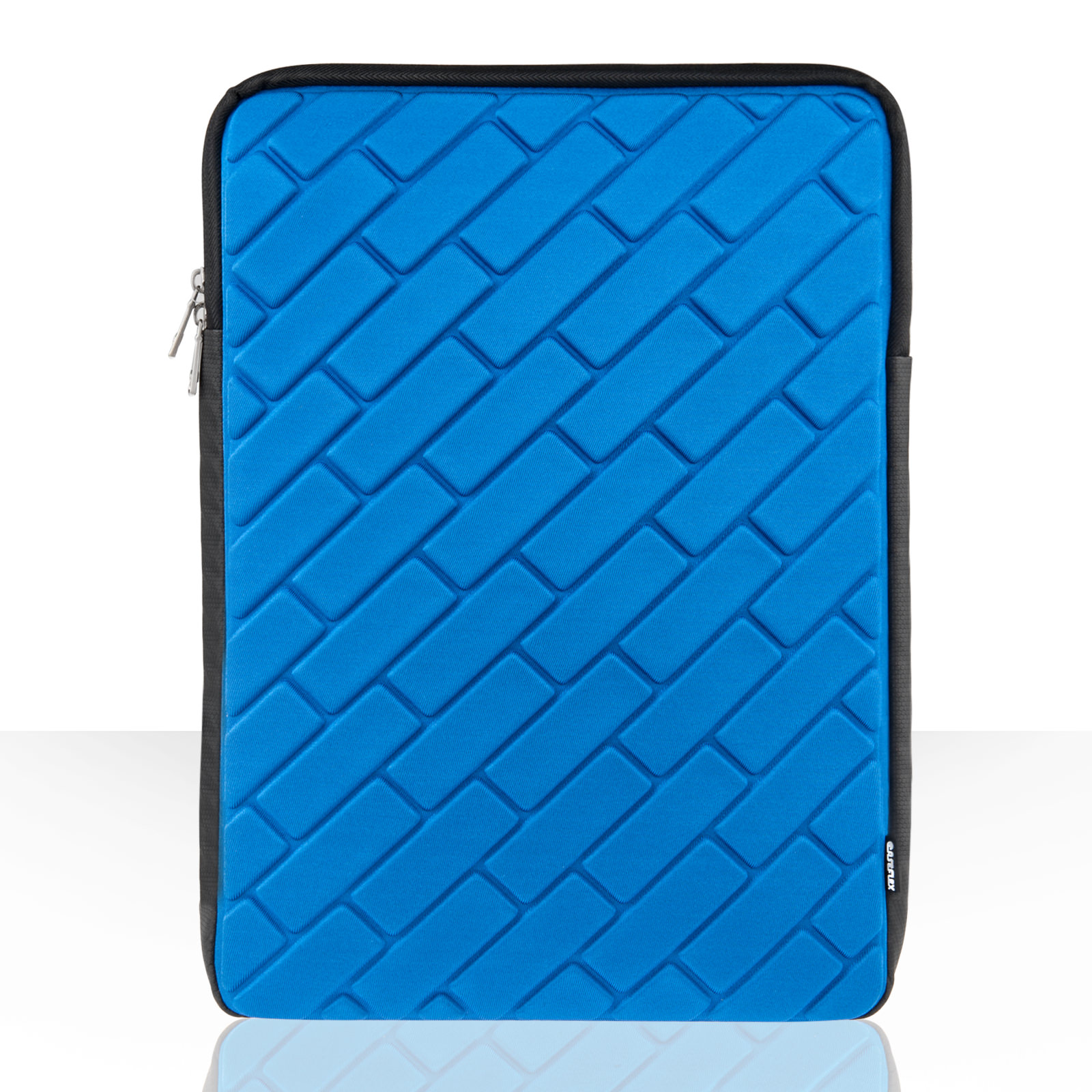 "Caseflex Brick Pattern 15.6"" Laptop Pouch - Blue"