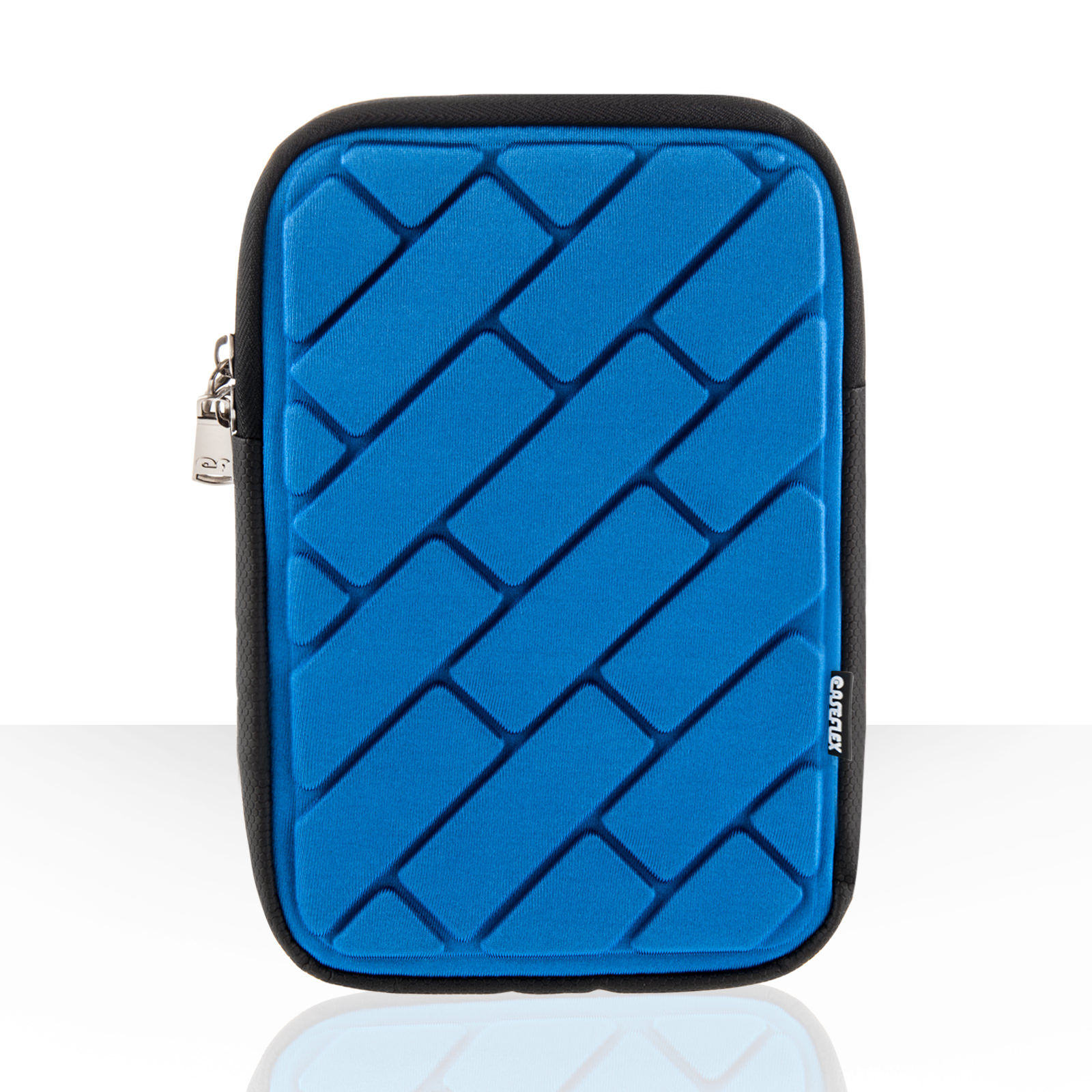 "Caseflex Brick Pattern 7"" Tablet Pouch - Blue"