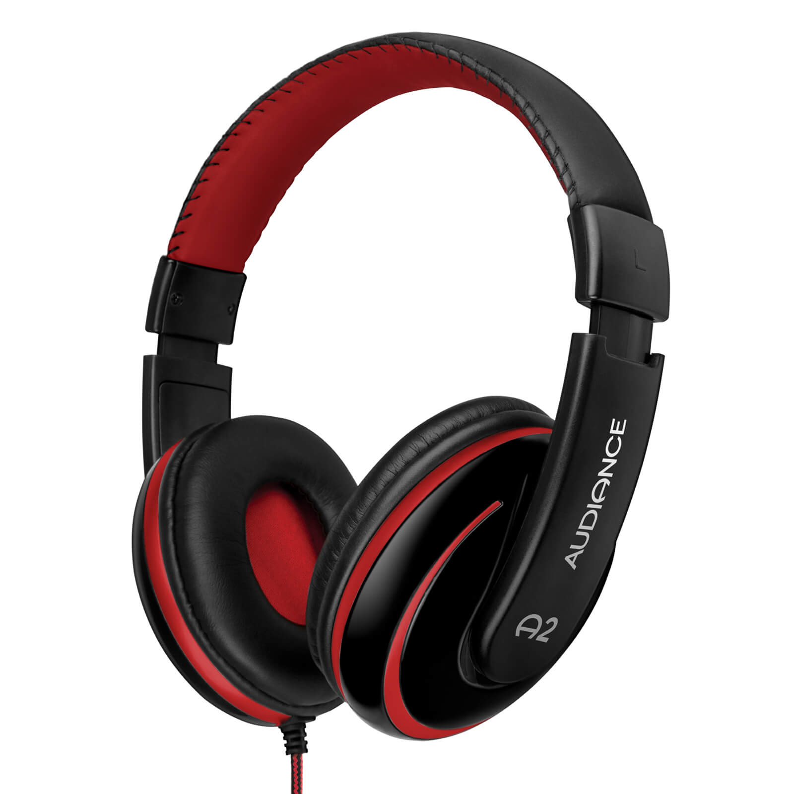 Audiance A2 Headphones - Black/Red