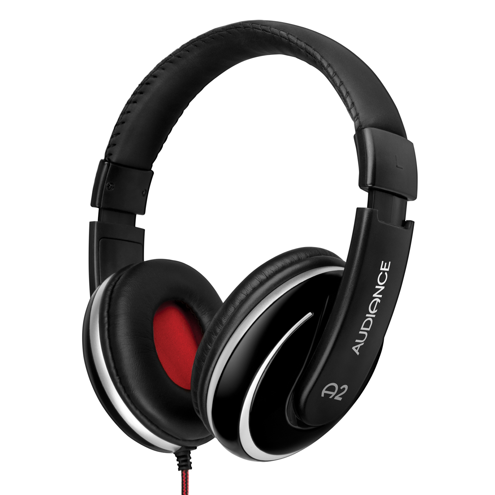 Audiance A2 Headphones - Black/Silver