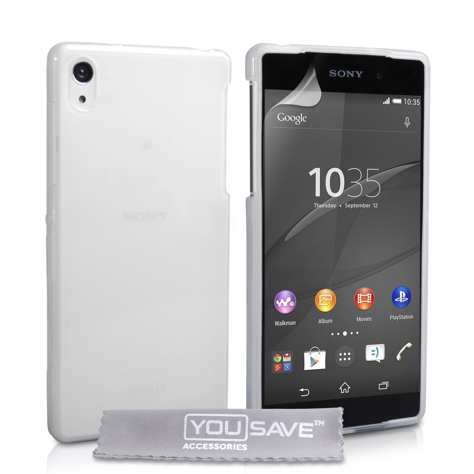 YouSave Sony Xperia Z4 Compact 0.6mm Clear Gel Case