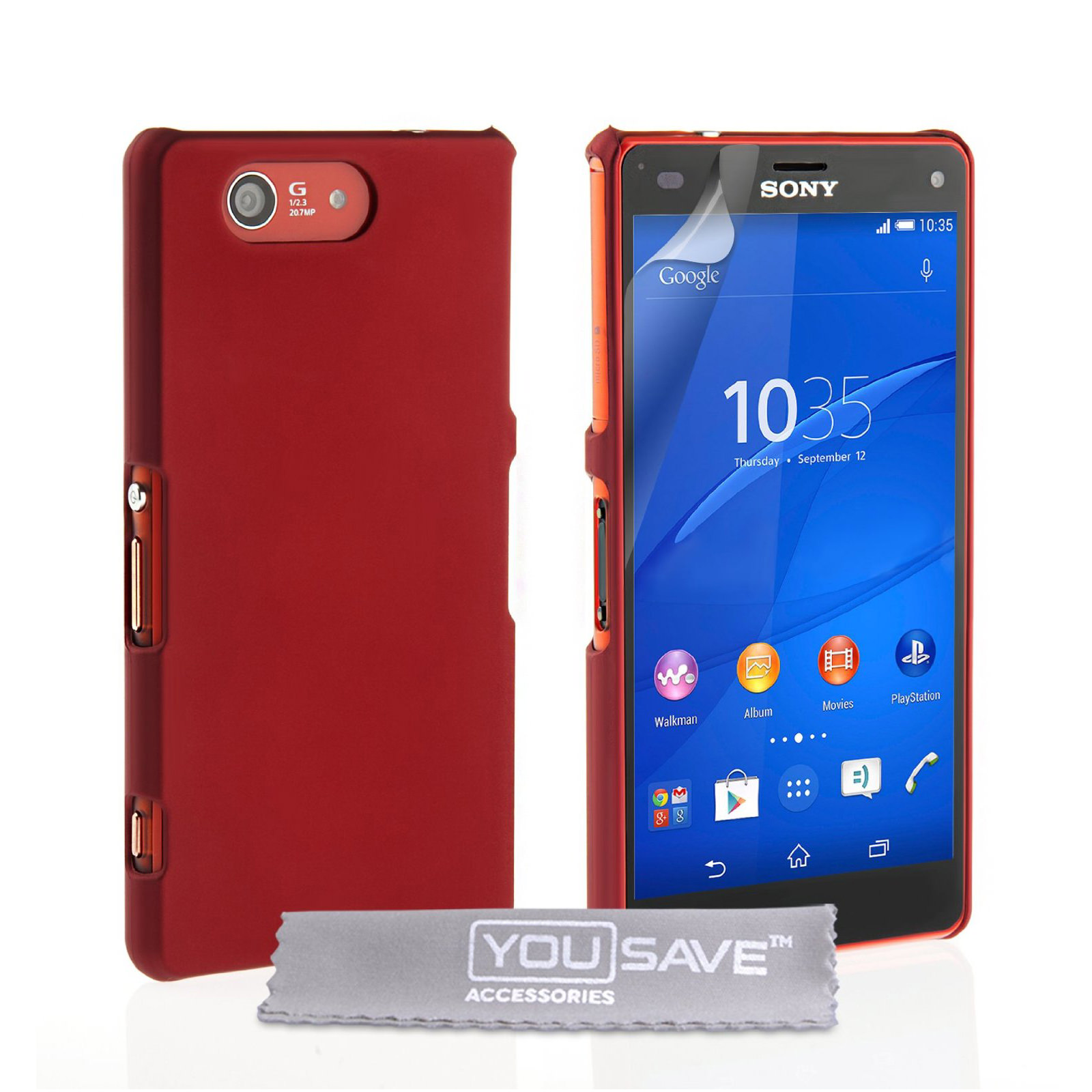 YouSave Accessories Sony Xperia Z4 Compact Hard Hybrid ...