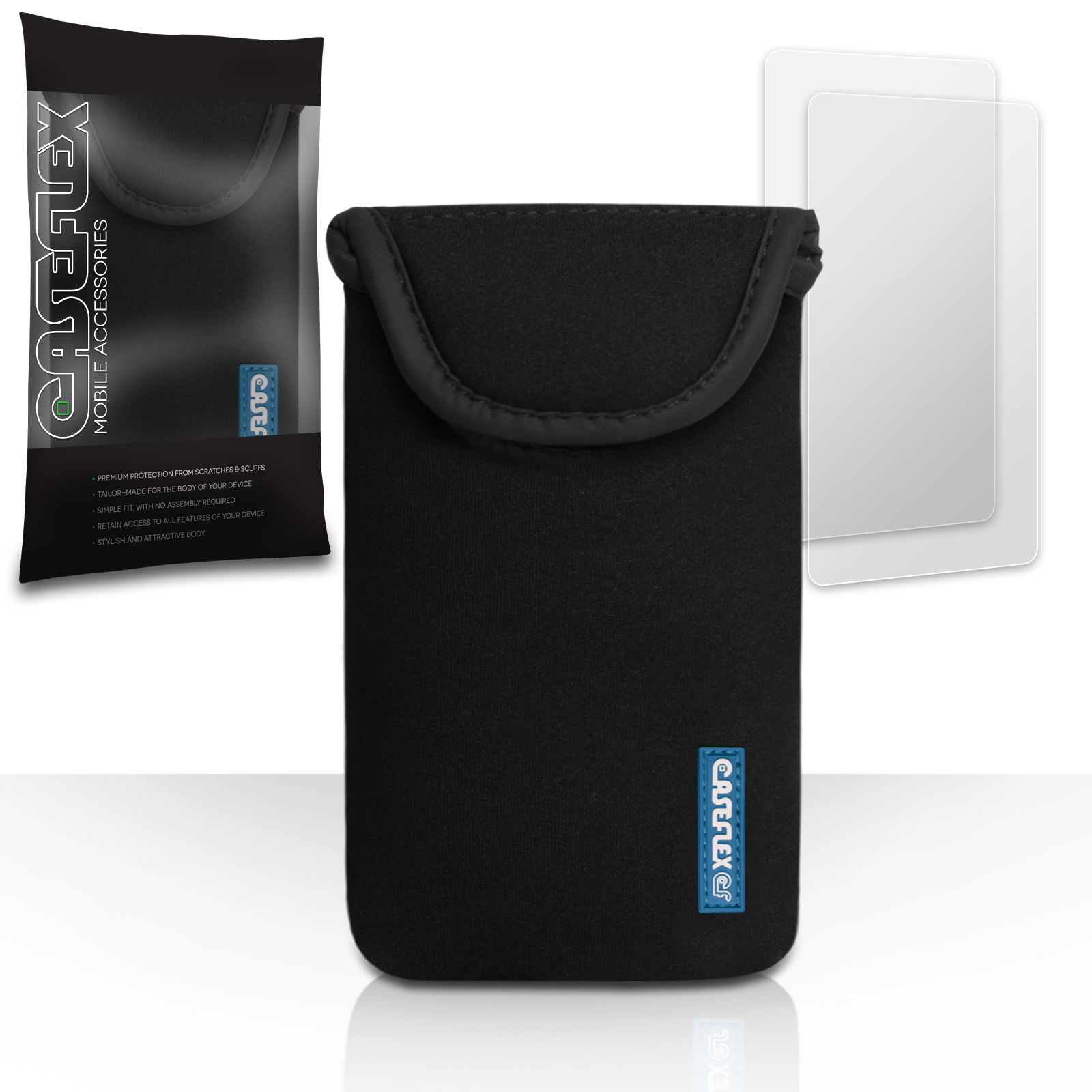 Generic Pouch Neoprene Large- Black