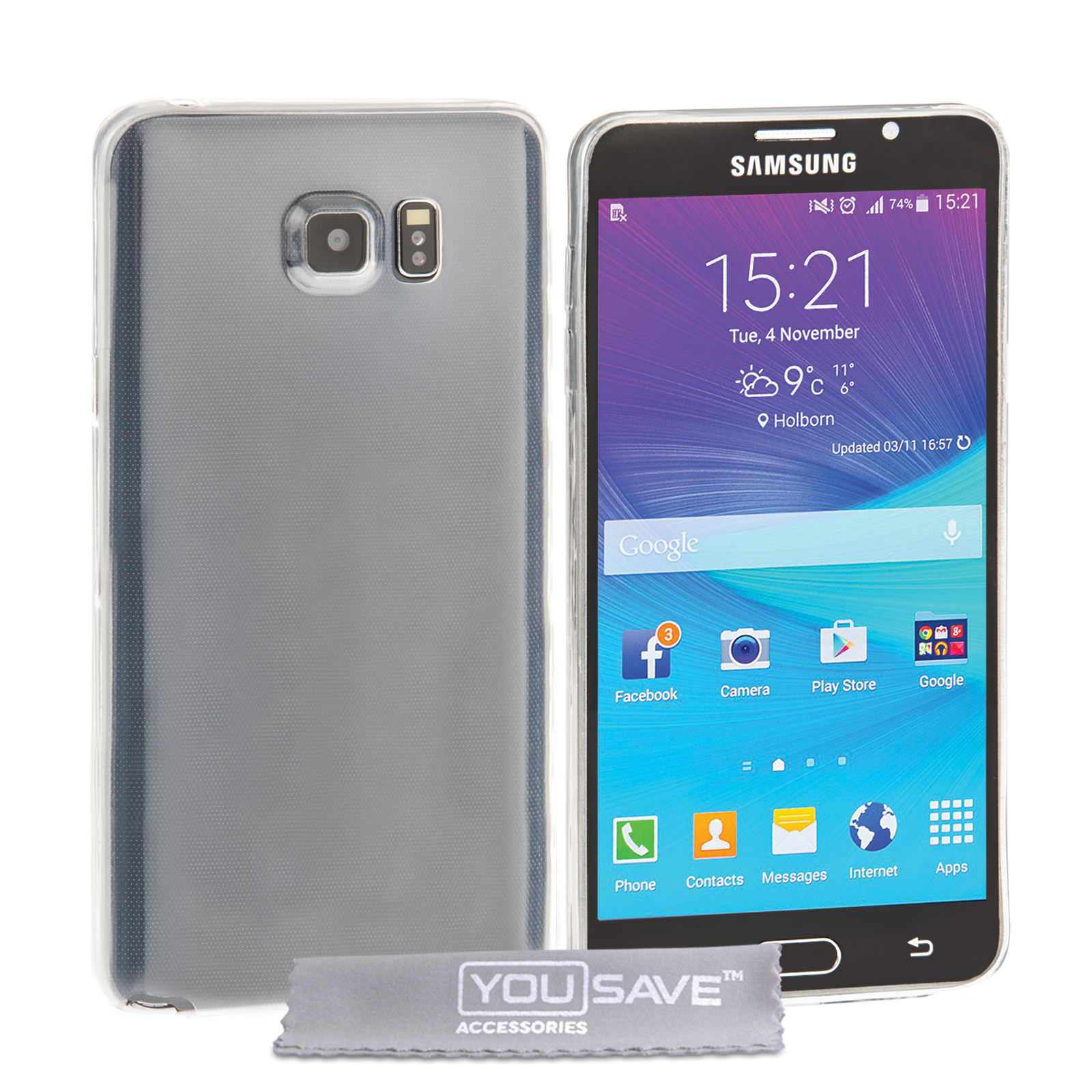 Samsung Galaxy Note 5 Ultra Thin Gel - Clear