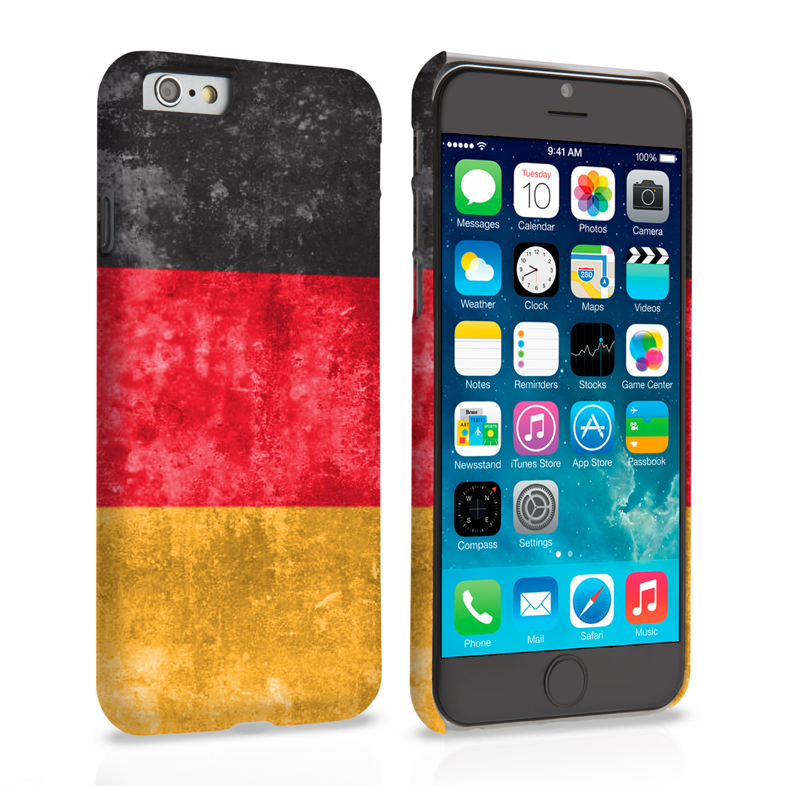 Caseflex iPhone 6 and 6s Retro Germany Flag Case