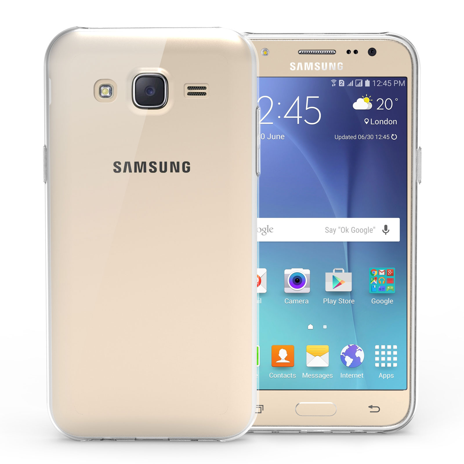 Yousave Accessories Samsung Galaxy J5 0.6mm Ultra-Thin
