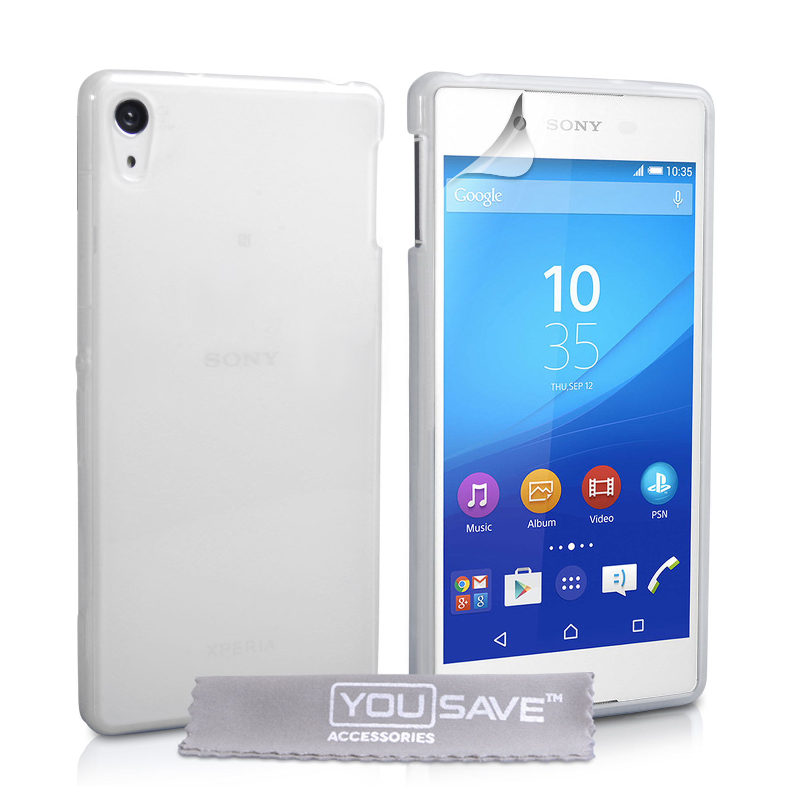 YouSave Sony Xperia Z3+ Hard Case - Crystal Clear