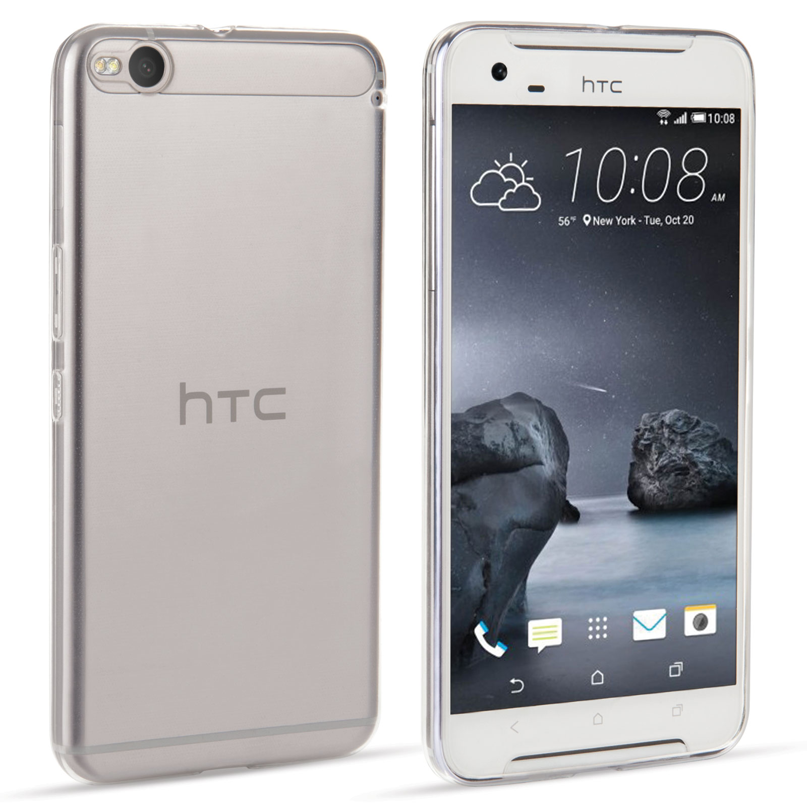 Yousave Accessories HTC One X9 0.6mm Ultra-Thin Clear Gel Case