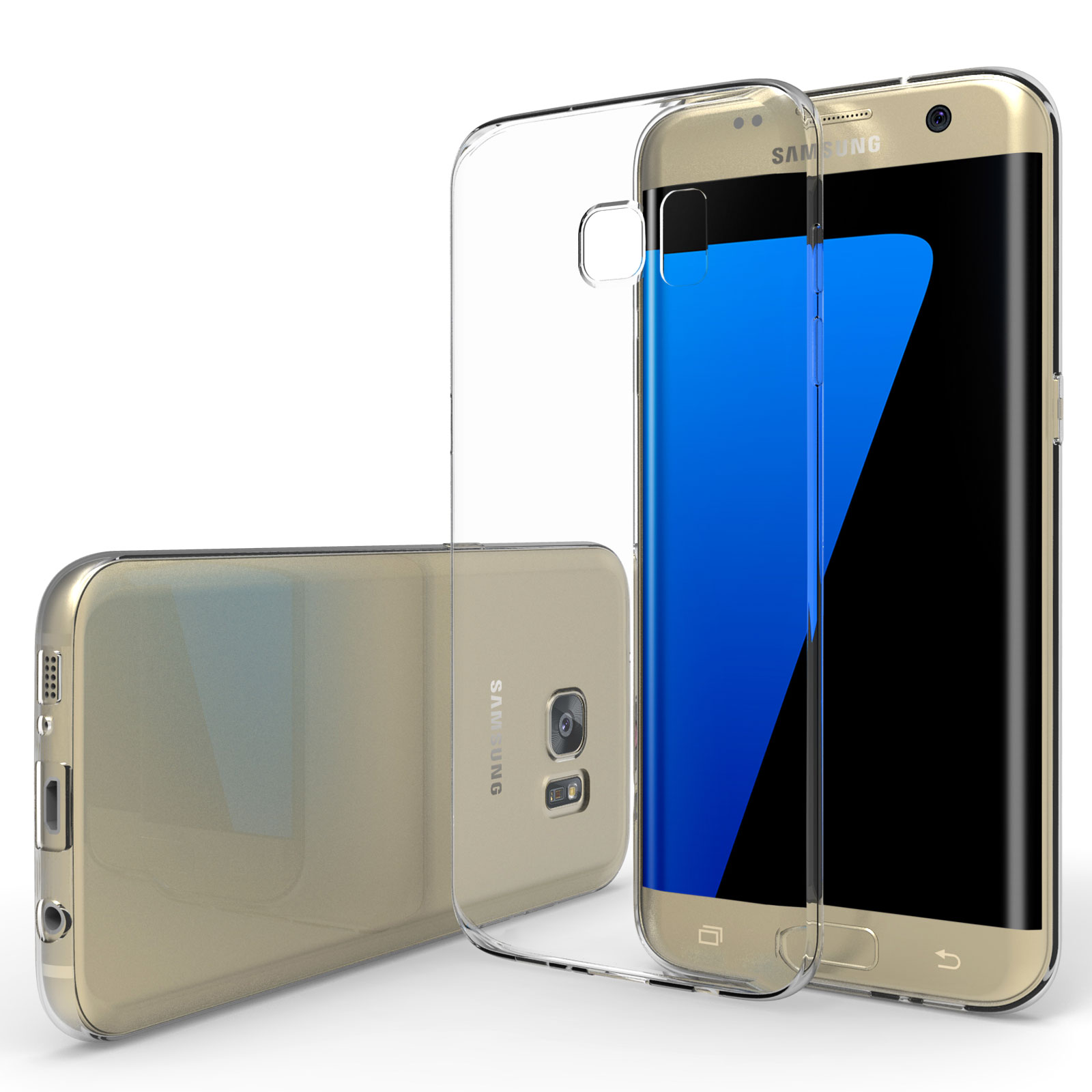 Samsung Galaxy S7 Edge Cases And Covers Spigen Carbon Case Yousave Accessories Ultra Thin Clear Gel