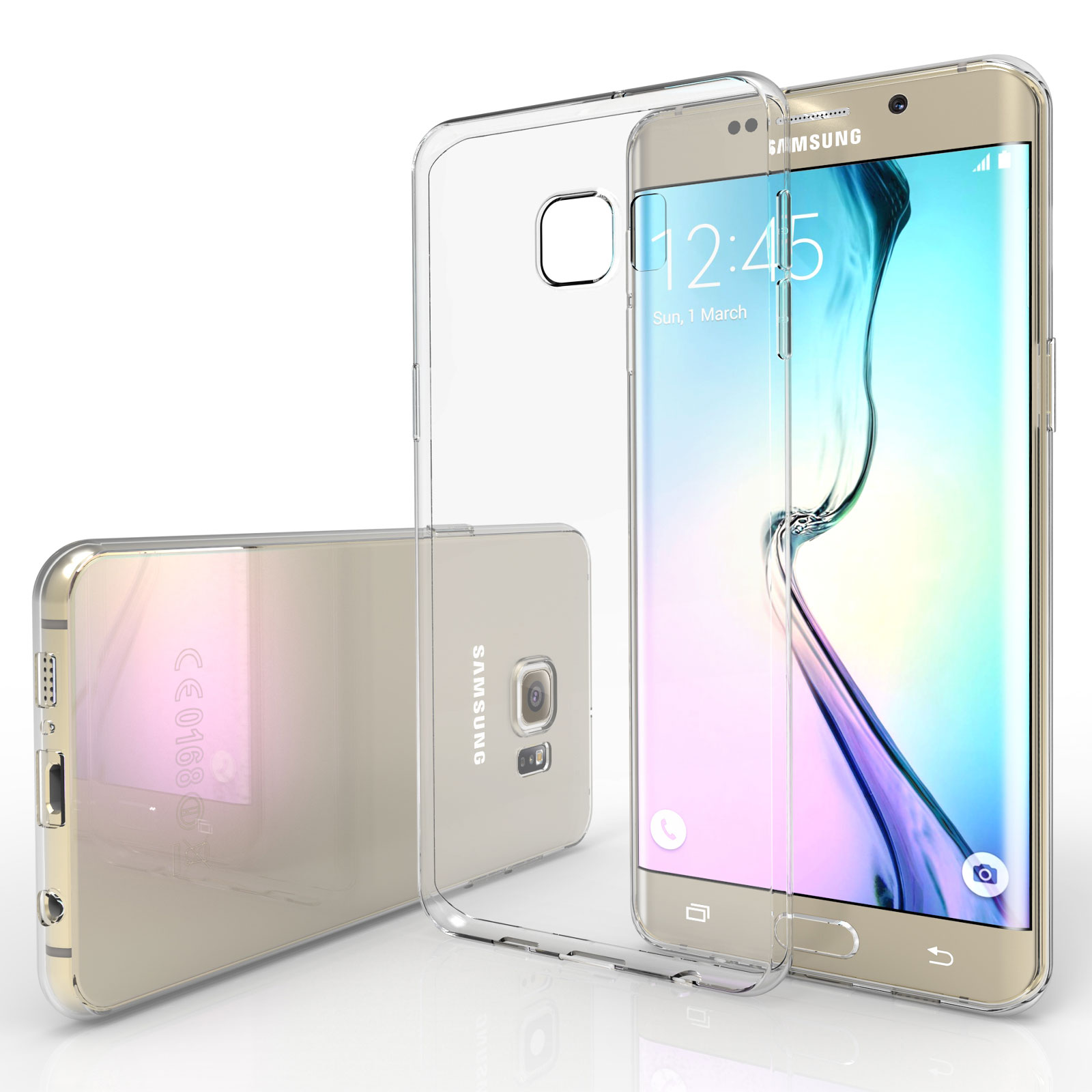 YouSave Samsung Galaxy S6 Edge 0.6mm Clear Gel Case