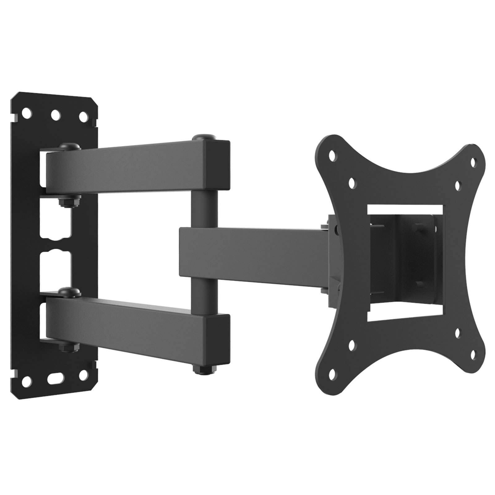 """Yousave Accessories Slim Cantilever TV Wall Mount 10"""" to 27"""""""