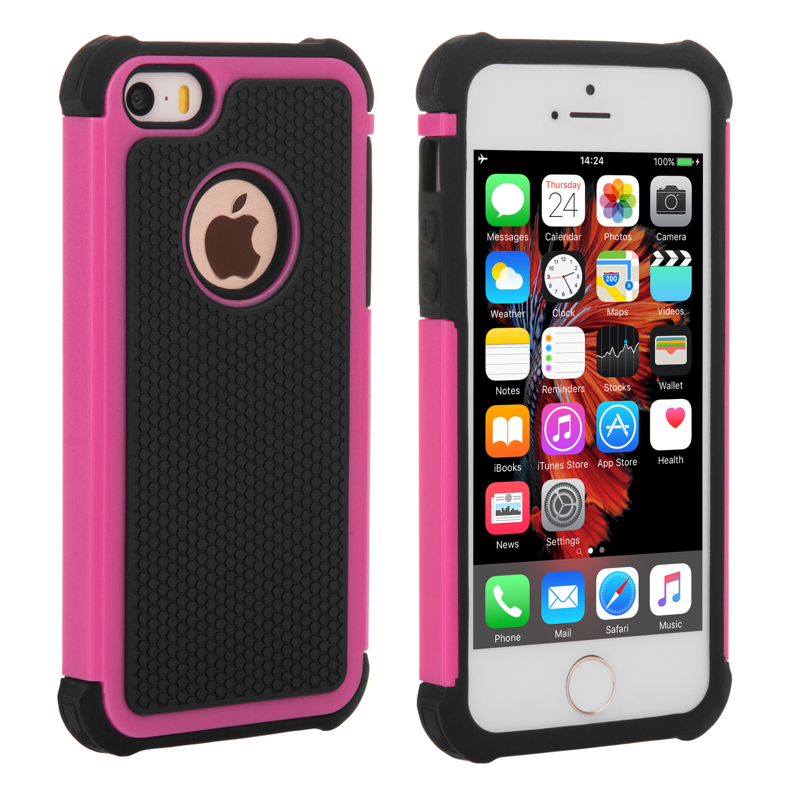 pink iphone 5s apple iphone 5s grip combo pink mobile madhouse 2451