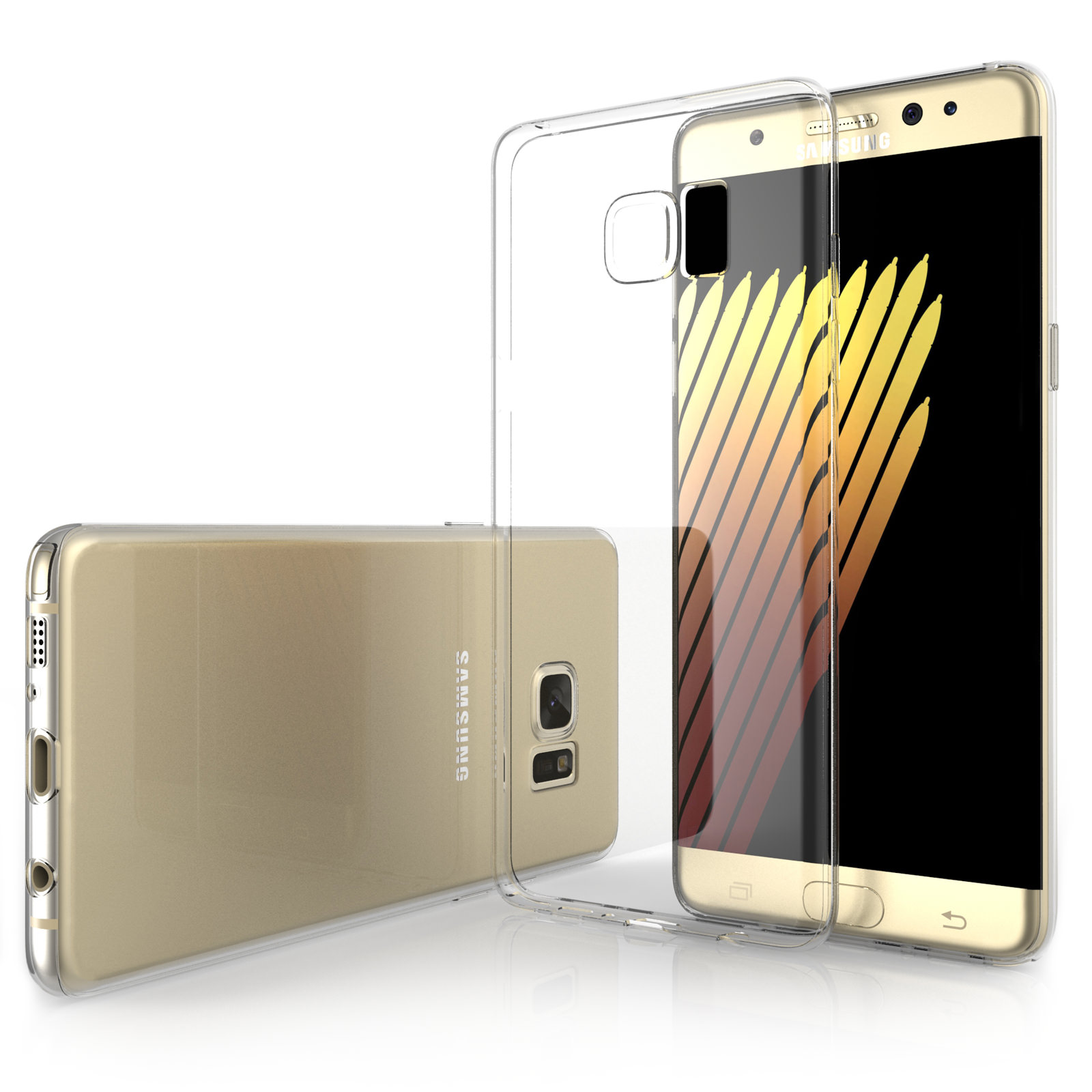 Yousave Accessories Samsung Galaxy Note 7 Ultra Thin Clear Gel Case