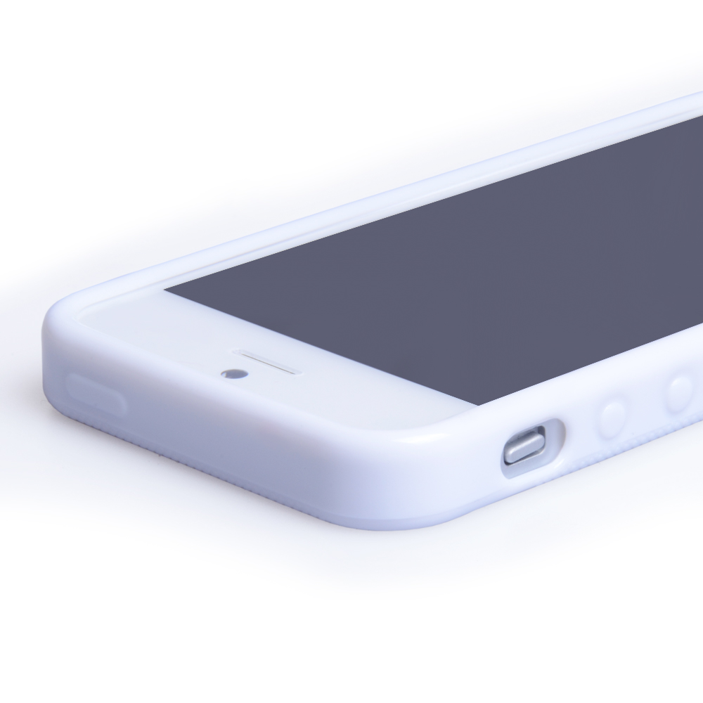 YouSave Accessories iPhone 5 / 5S White X-Line Gel Case