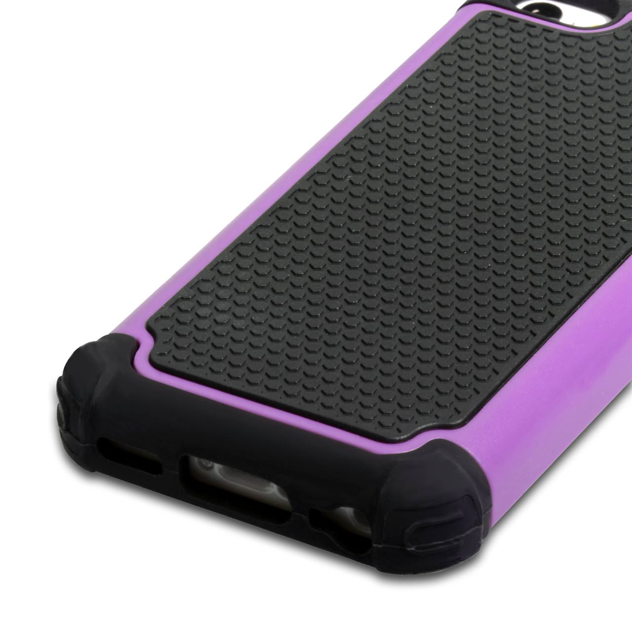 YouSave Accessories iPhone 5C Grip Combo Case - Purple