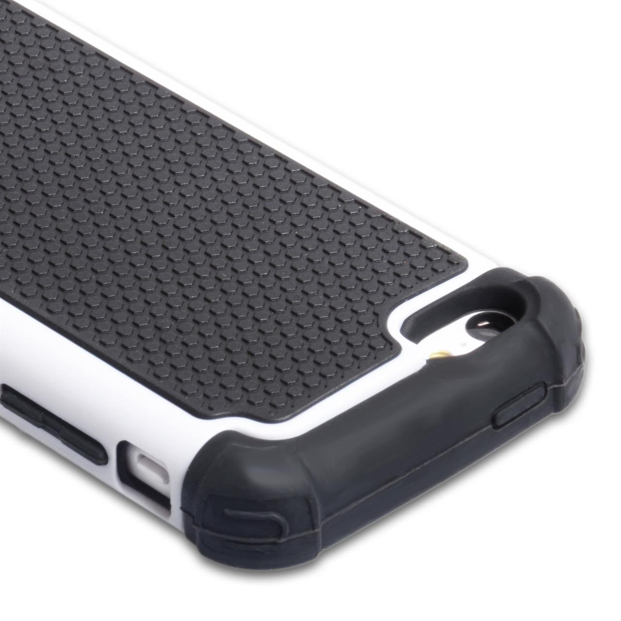 YouSave Accessories iPhone 5C Grip Combo Case - White