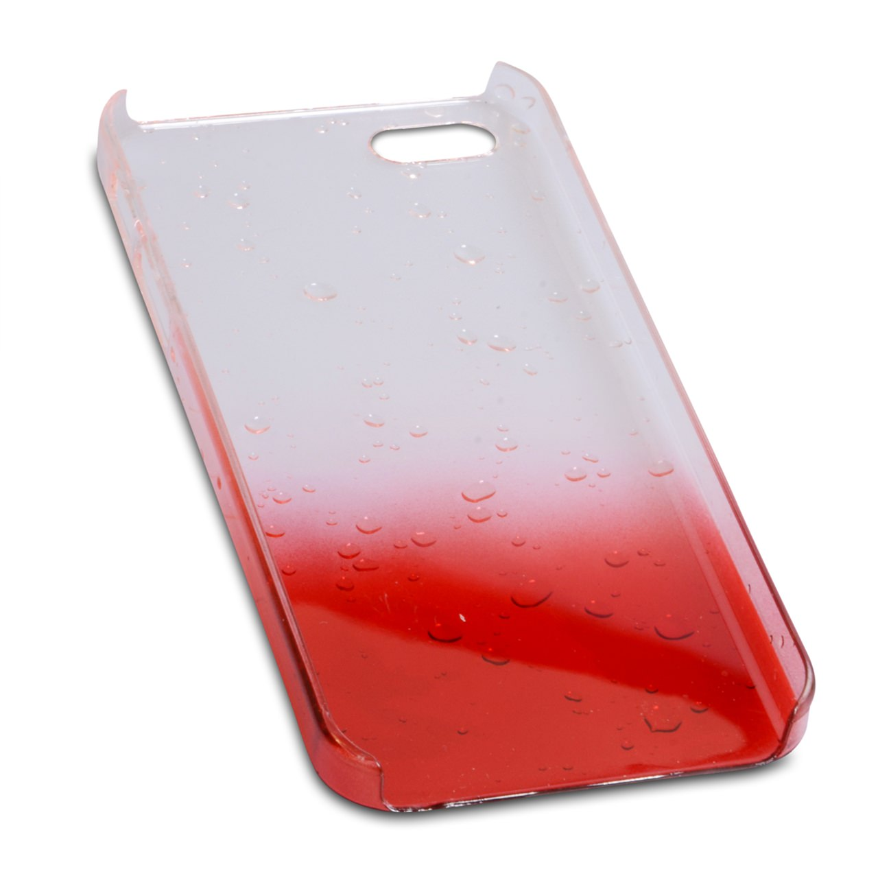 YouSave Accessories iPhone 5 / 5S Raindrop Hard Case - Red