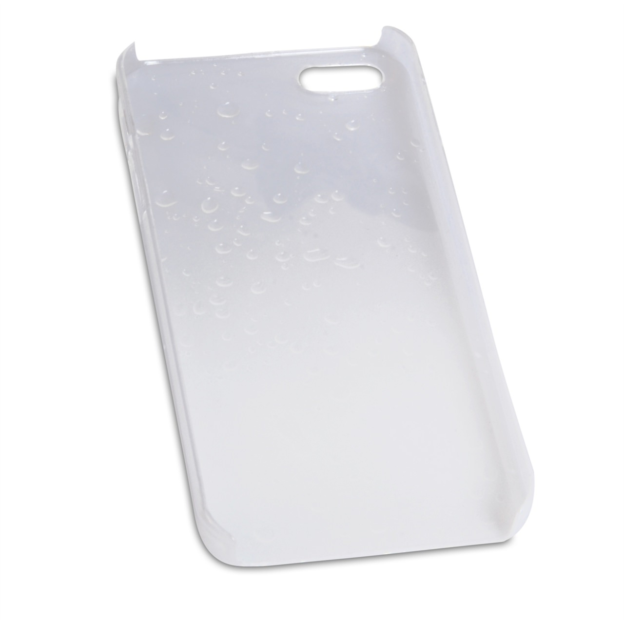 YouSave Accessories iPhone 5S White Raindrop Hard Case
