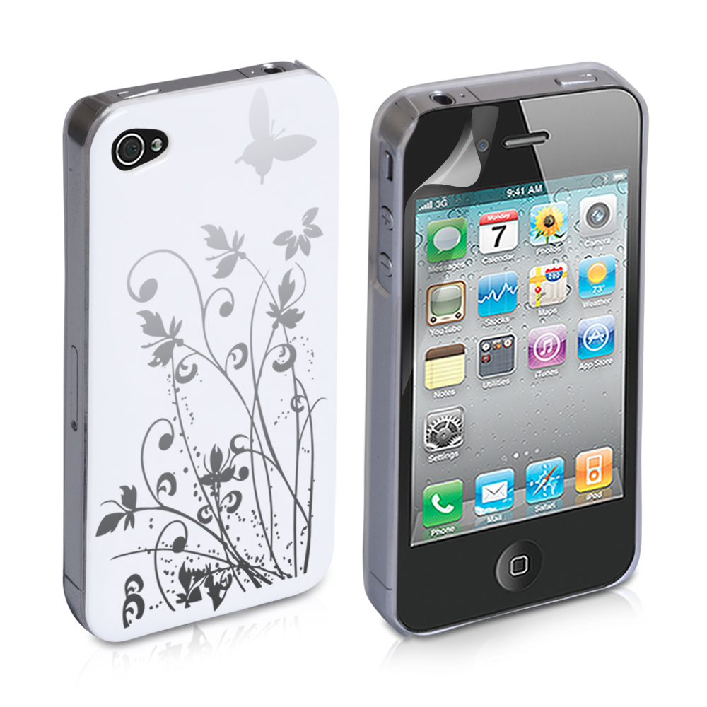 YouSave Accessories iPod Touch 4 White IMD Hard Back Case