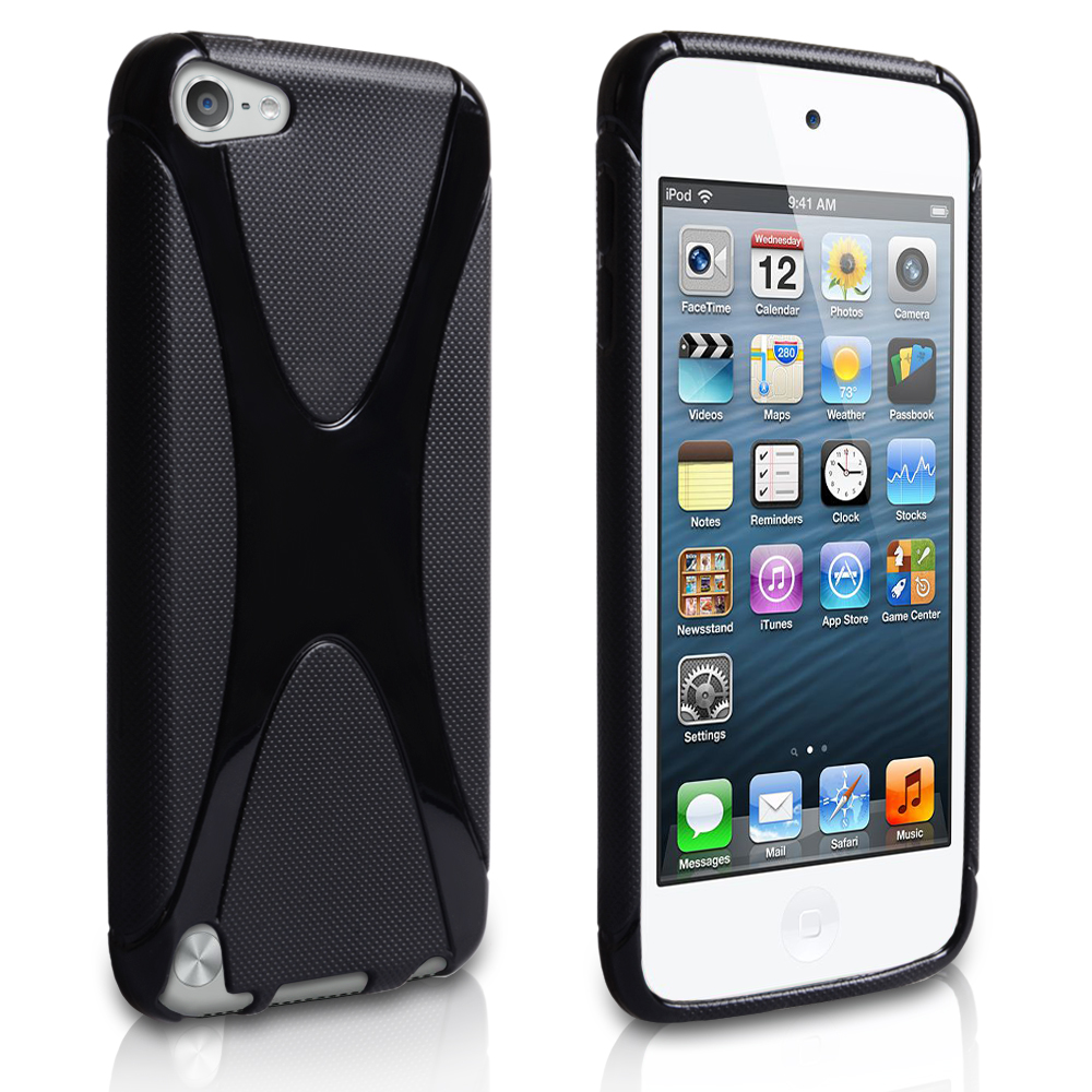 YouSave Accessories iPod Touch 5G Black X-Line Gel Case