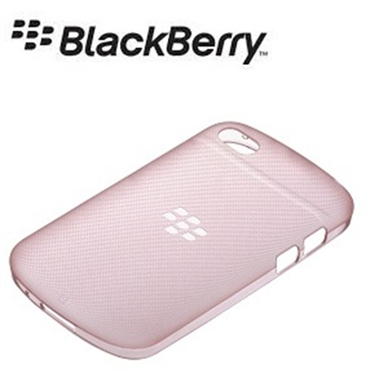 Blackberry Q10 Official Soft Shell Case - Pink