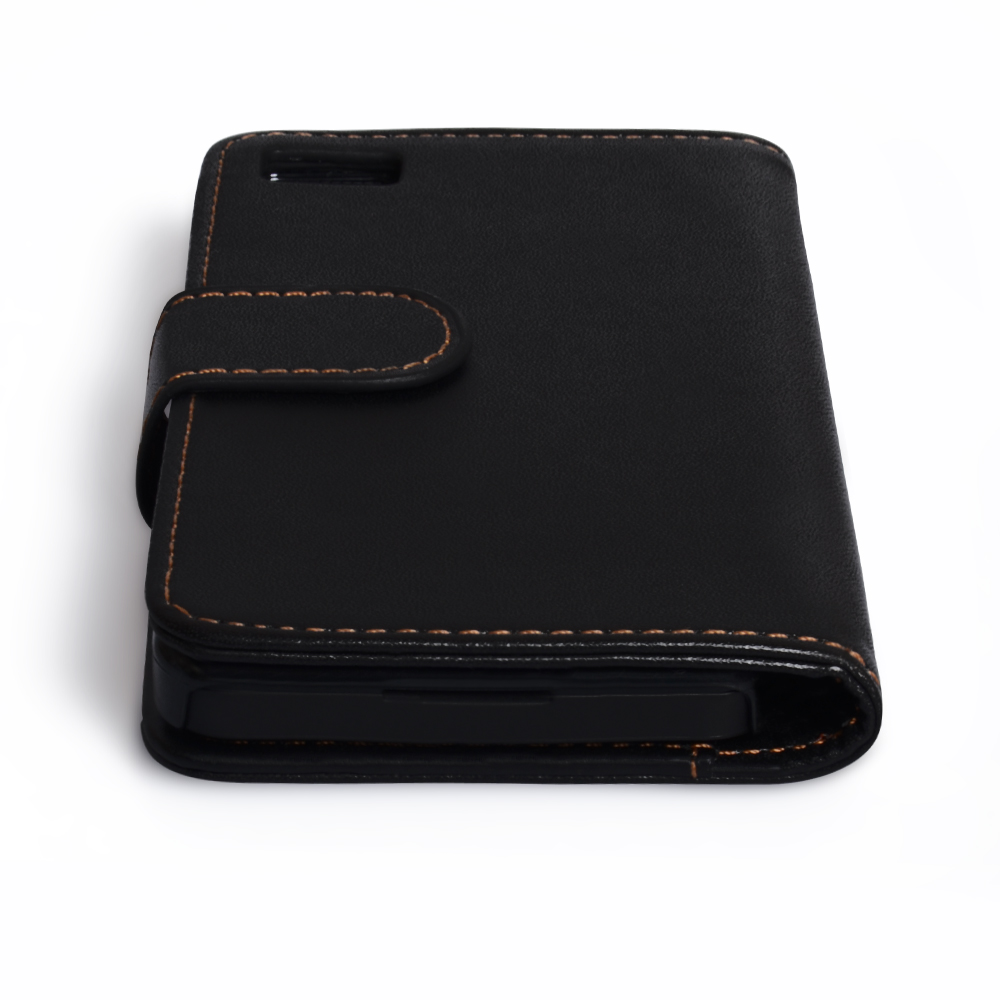 YouSave Accessories Blackberry Z10 Black Leather Effect Wallet Case