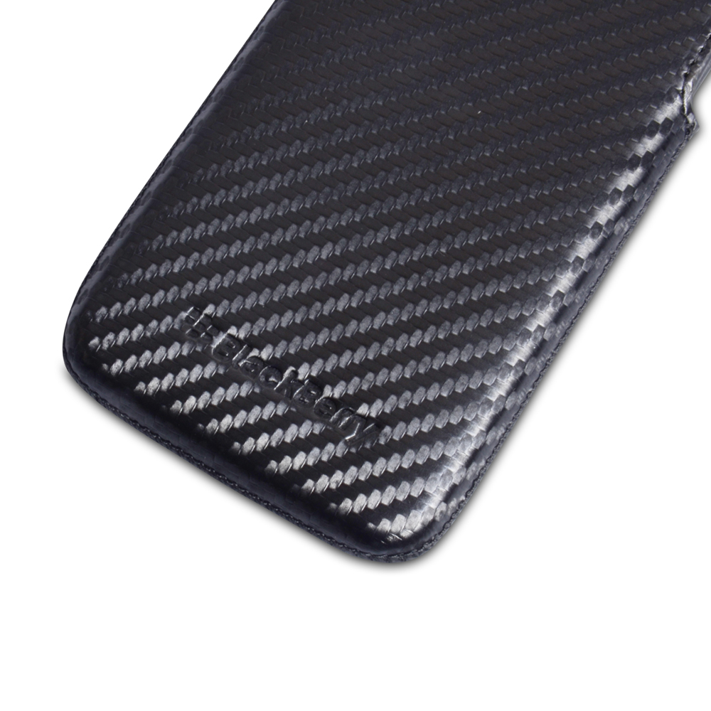 Official Blackberry Z10 Official Black Leather Pocket Pouch