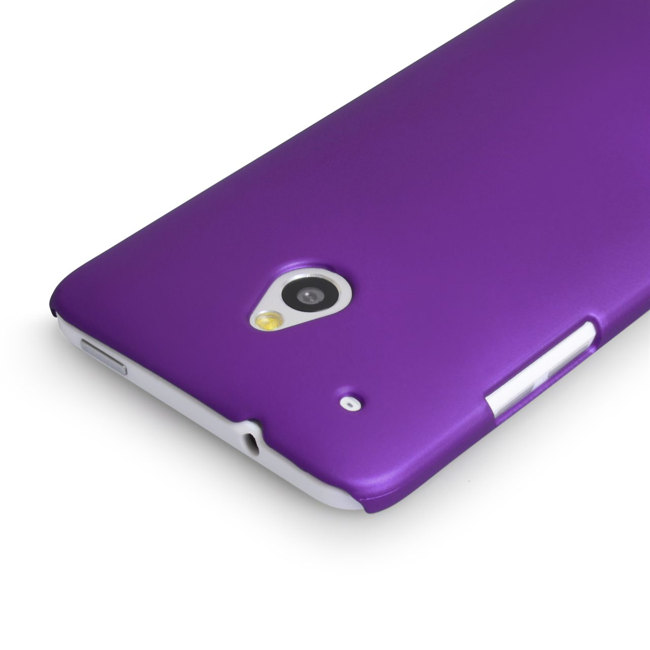 YouSave Accessories HTC ONE Mini Hard Hybrid Case - Purple
