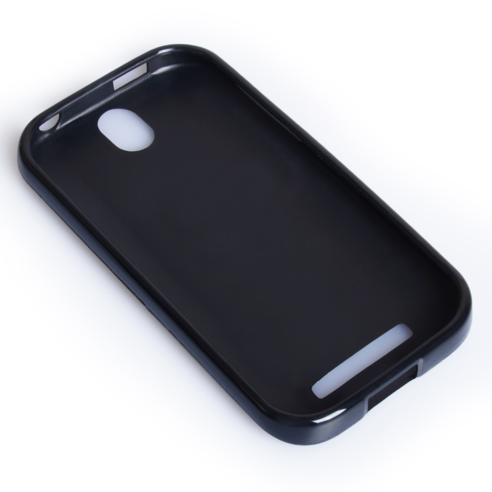 YouSave Accessories HTC One SV Black Gel Case