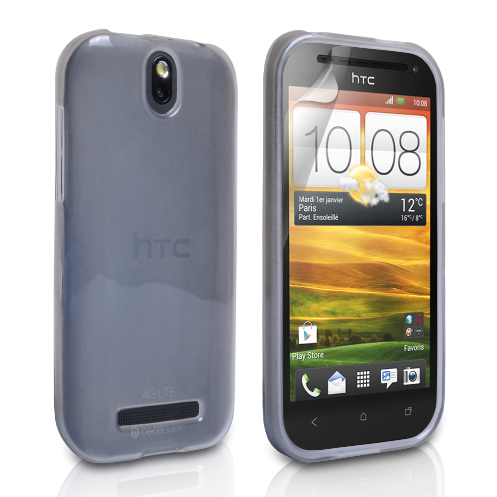 YouSave Accessories HTC One SV Gel Case - Clear