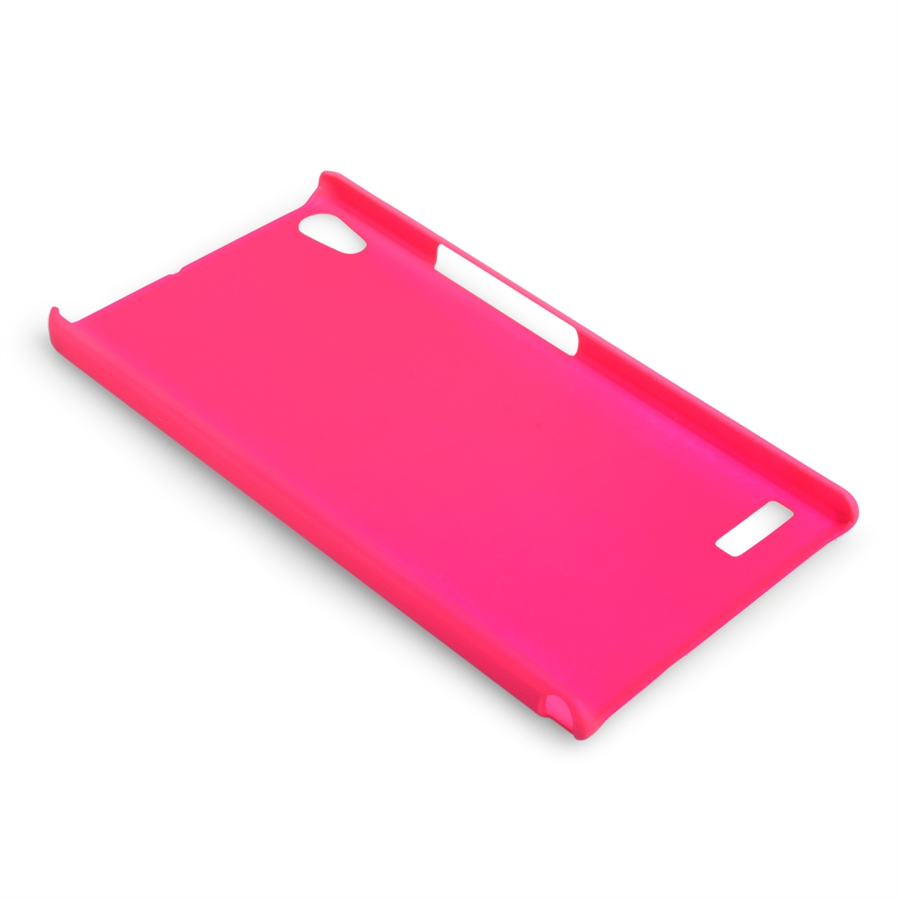 YouSave Accessories Huawei Ascend P6 Hard Hybrid Case - Hot Pink