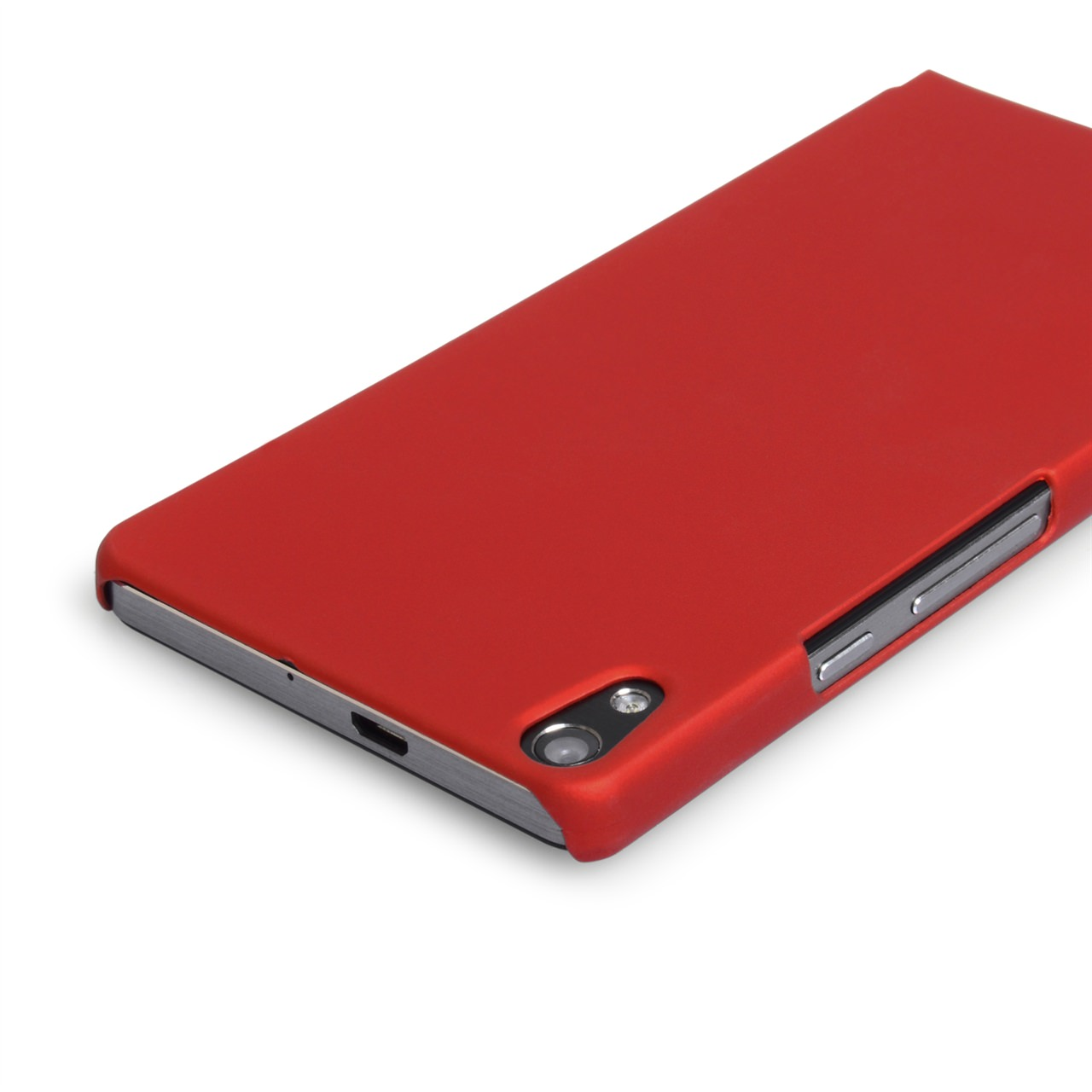 YouSave Accessories Huawei Ascend P6 Red Hybrid Hard Case