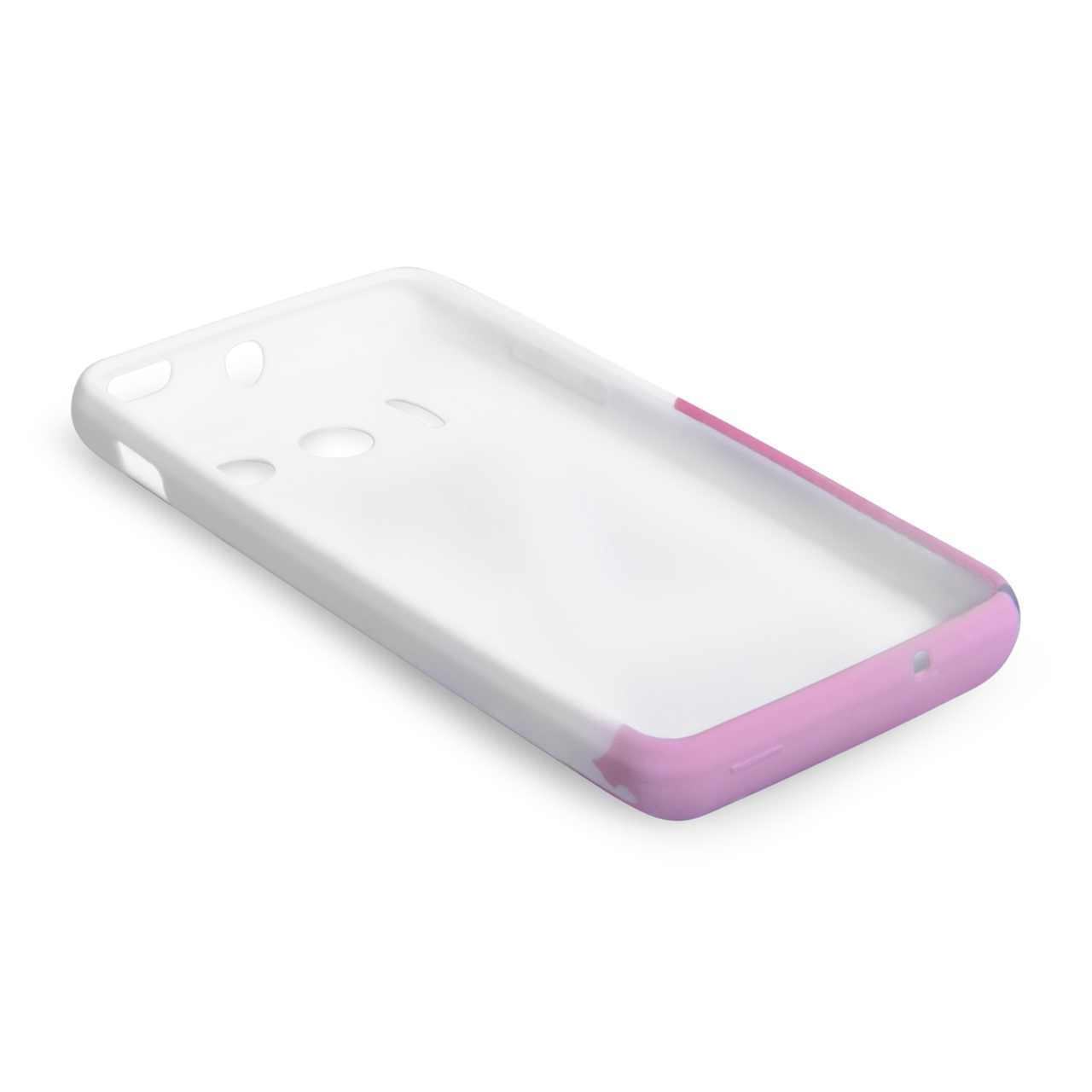YouSave Accessories Huawei Ascend Y300 Floral Bee Silicone Gel Case
