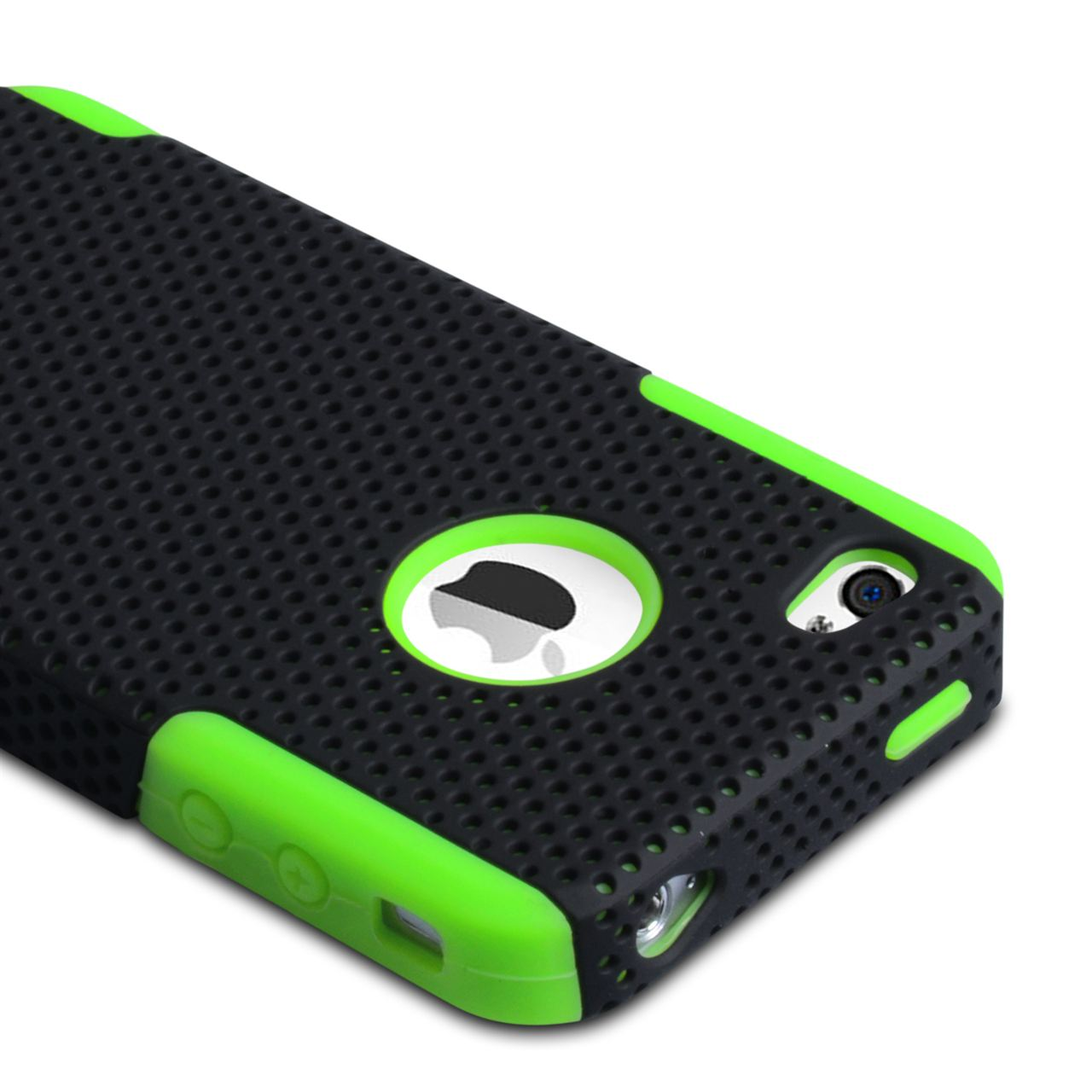YouSave Accessories iPhone 4 / 4S Mesh Combo Case - Green