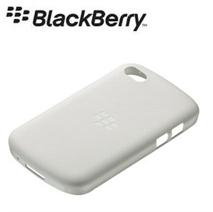 Blackberry Q10 Official White Soft Shell White