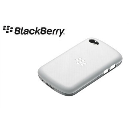 Blackberry Q10 Official Hard Shell Case - White